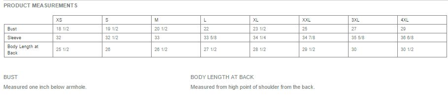 L248 Size