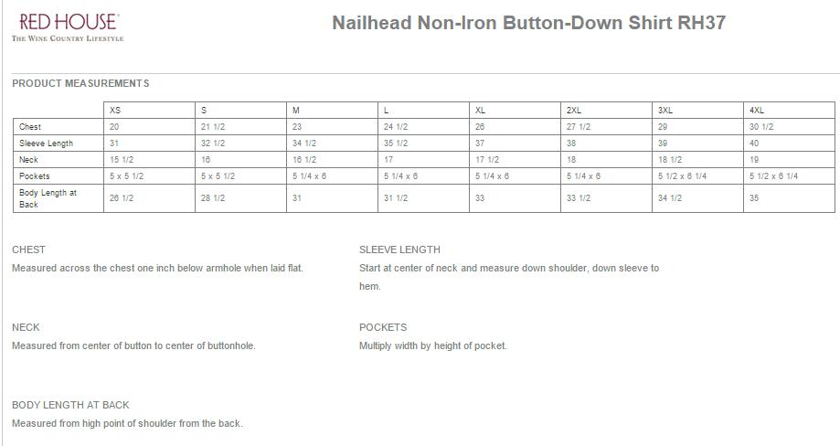 Button Shirt Size RH37