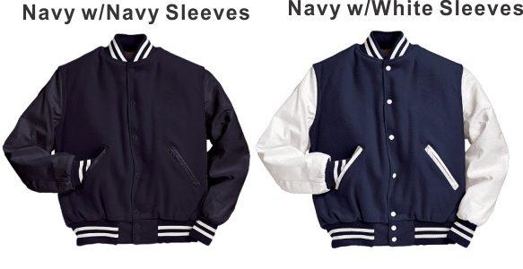 Navy_White Sleeves